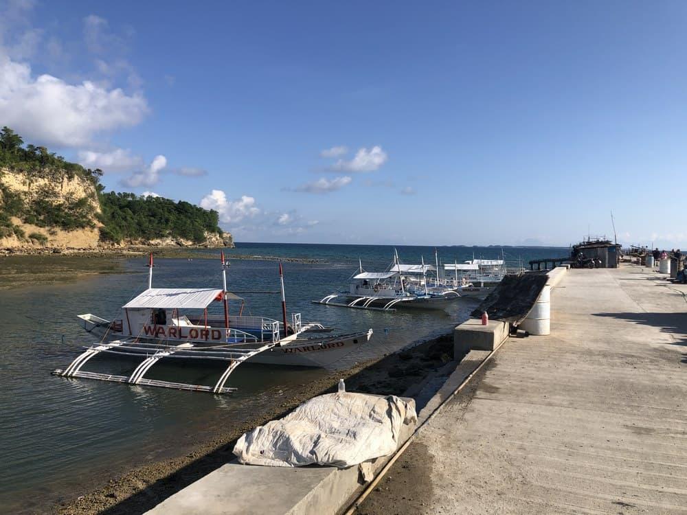 puerto de Maya para ir a Malapascua