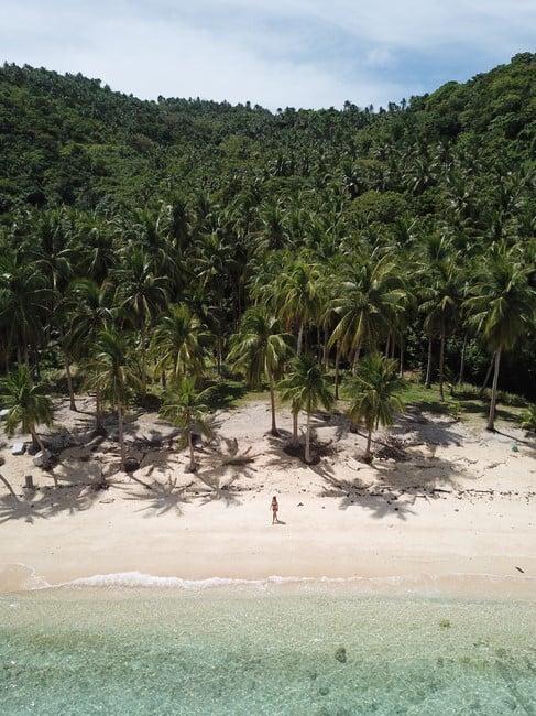 lintian beach en Romblon