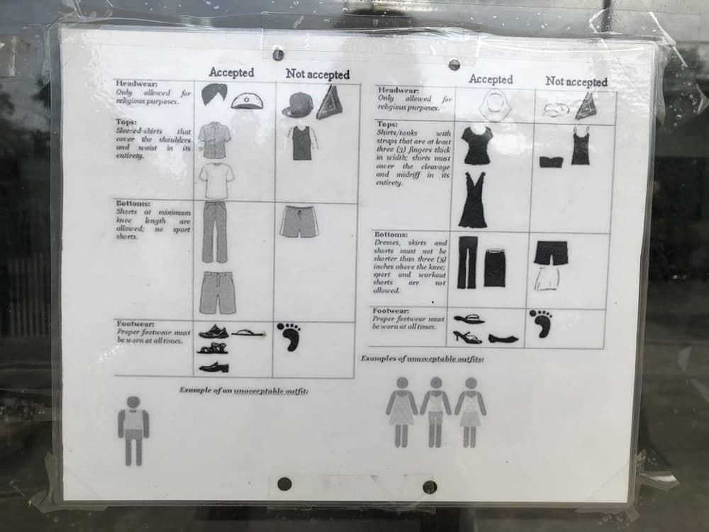 código de vestimenta extensión visado filipinas