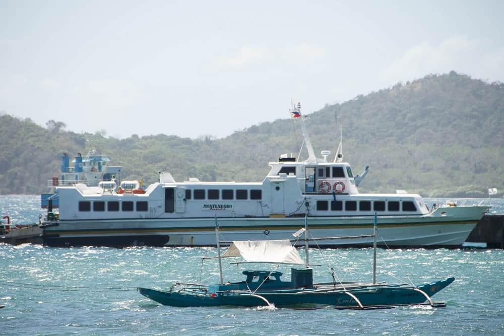 ferry coron el nido montenegro
