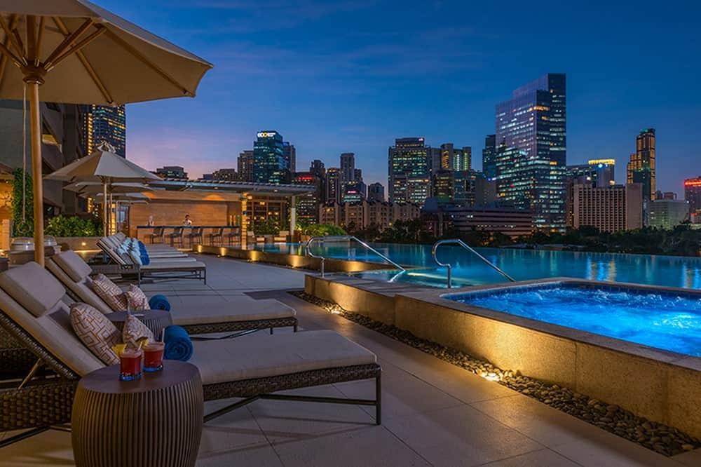 Piscina con vistas del hotel Discovery Primea
