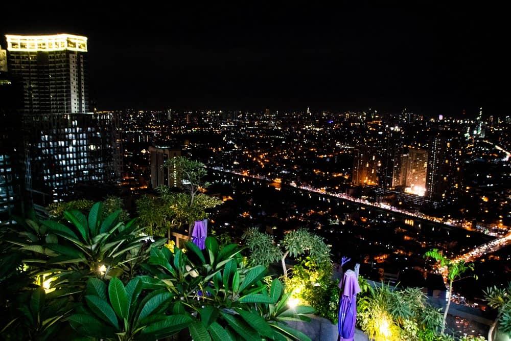 vistas desde la terraza del I'M Hotel