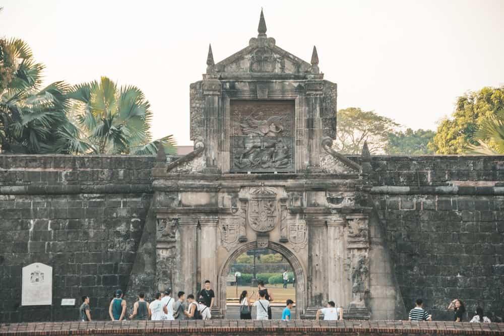 Fuerte de Santiago en Intramuros Manila