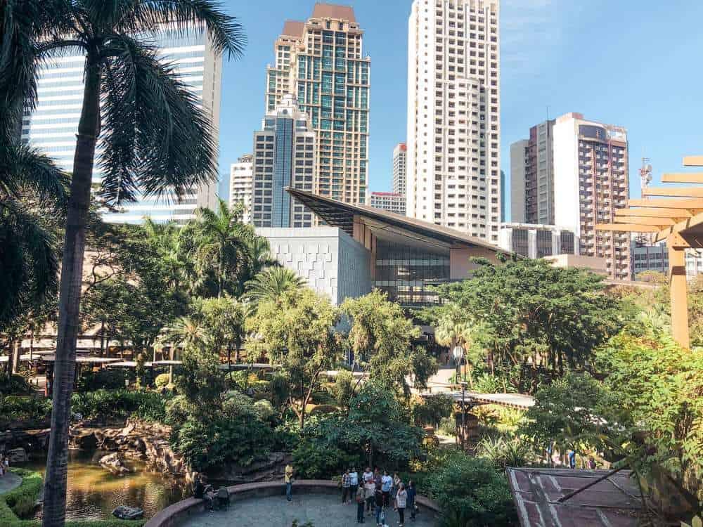Centro comercial Greenbelt en Makati