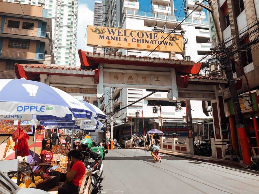 Chinatown de Manila, Filipinas
