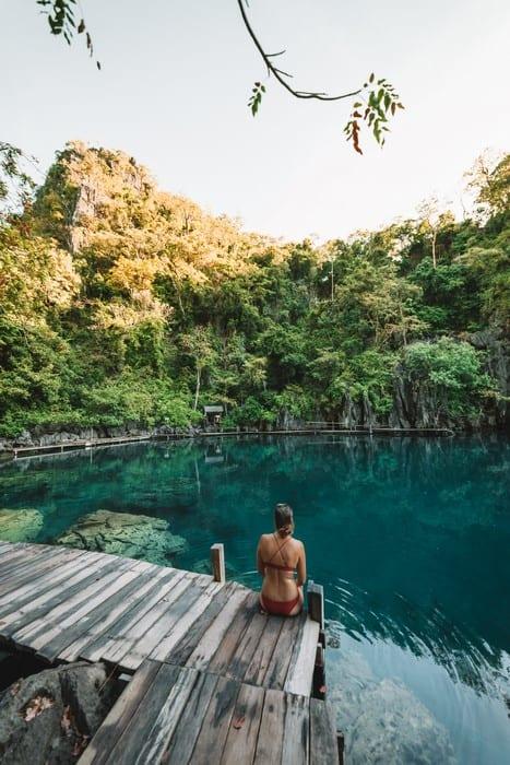 Kayangan Lake en Coron