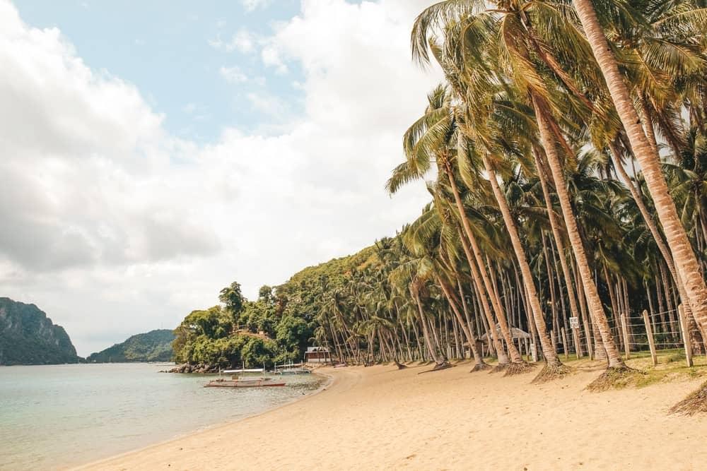 playa de Las Cabañas, El Nido, Filipinas