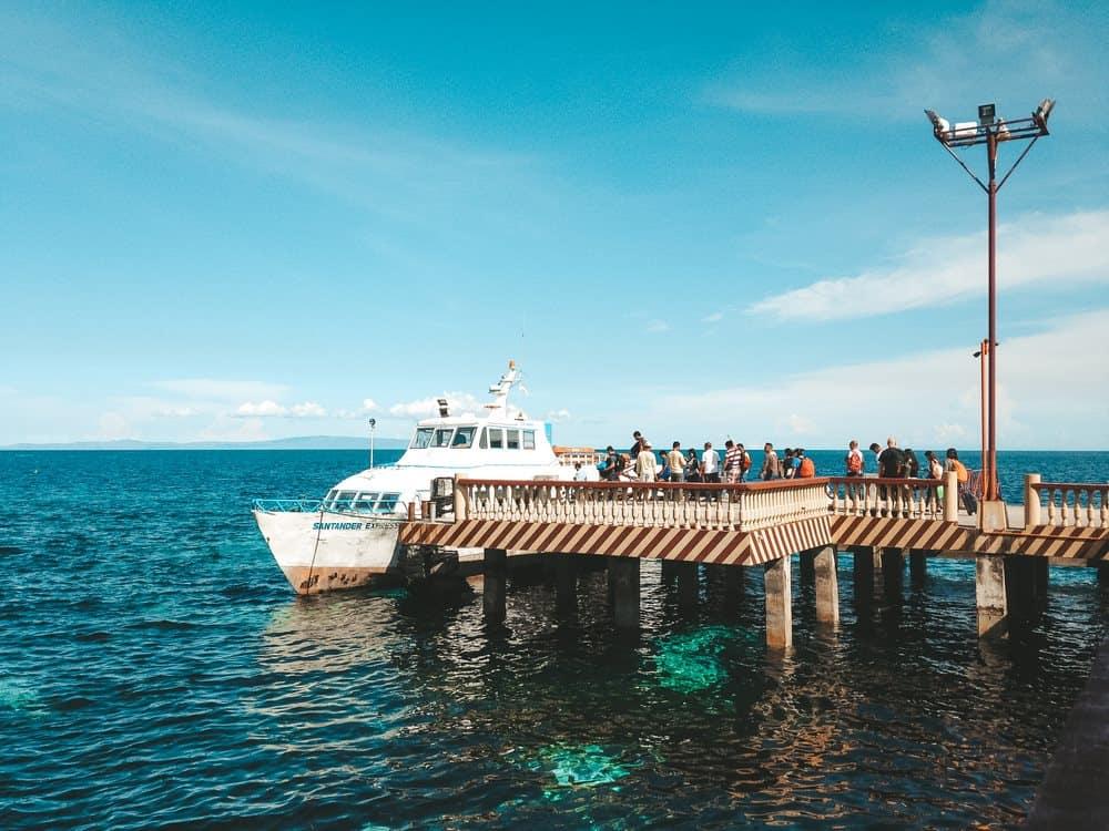Barco de Sibulan a Liloan