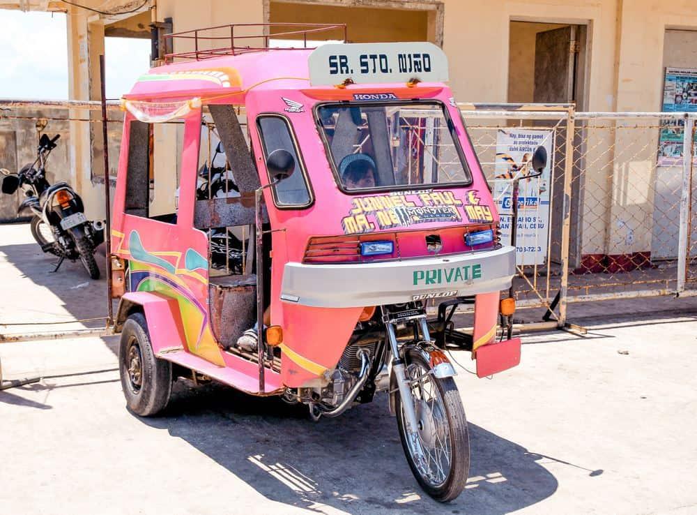 Motorelas típicas de Bantayan