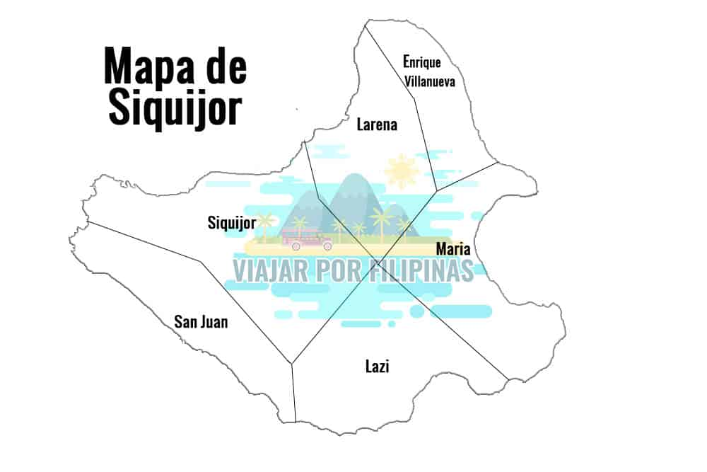 Mapa de Siquijor