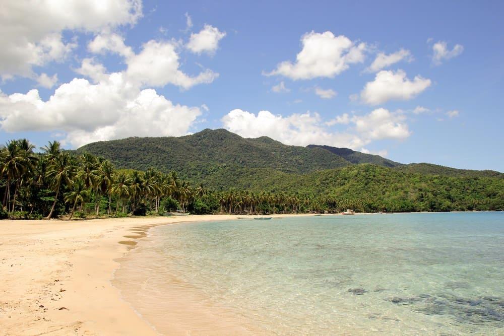 Nagtabon Beach en Palawan