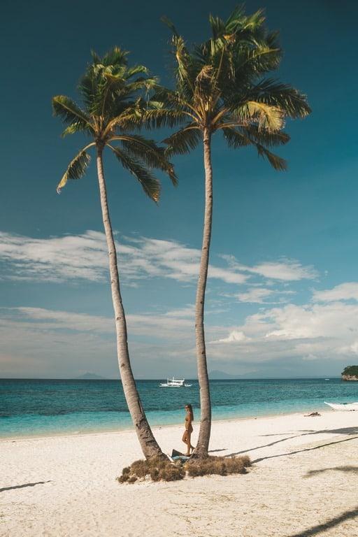 Langob Beach en Malapascua