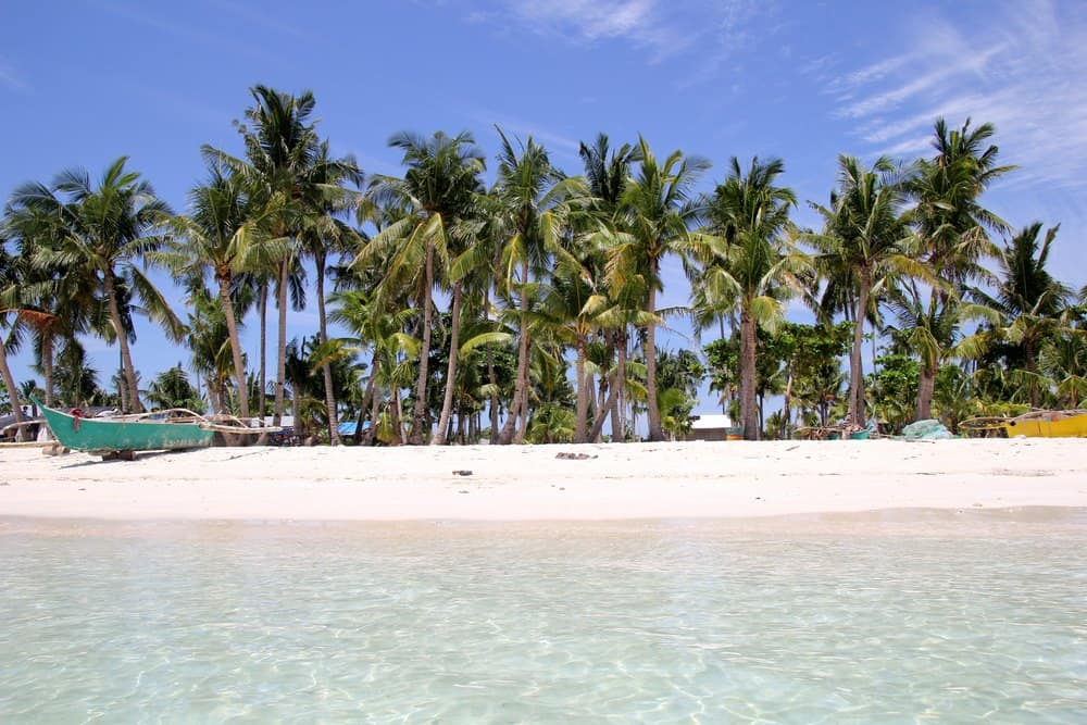 Playas del norte de Bantayan