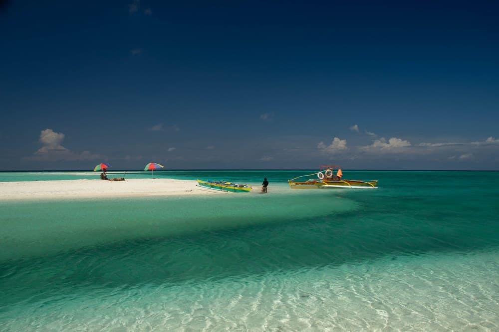 aguas de white island en camiguin
