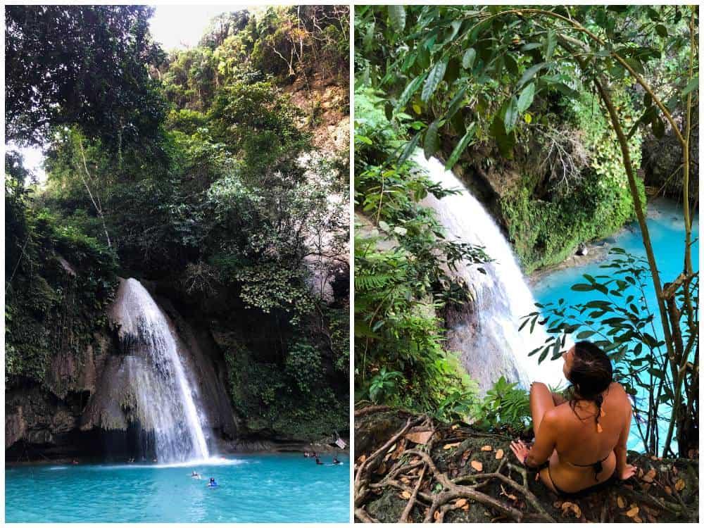 Visitar Kawasan Falls desde Moalboal