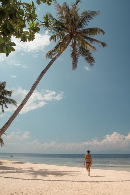 Lambug Beach, playa cercana a Moalboal