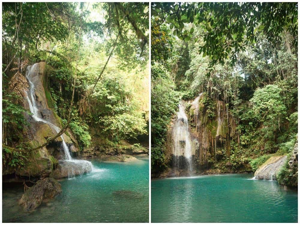 visitar Cambais Falls desde Moalboal