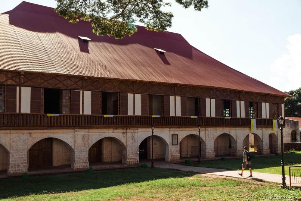 Convento de Lazi en Siquijor
