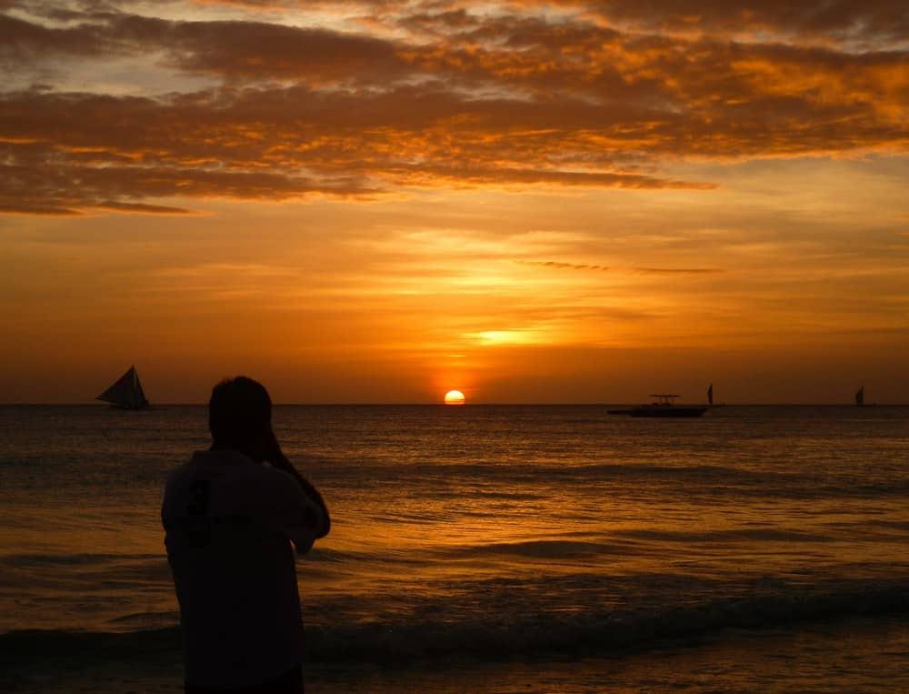 Puestas de sol en Boracay