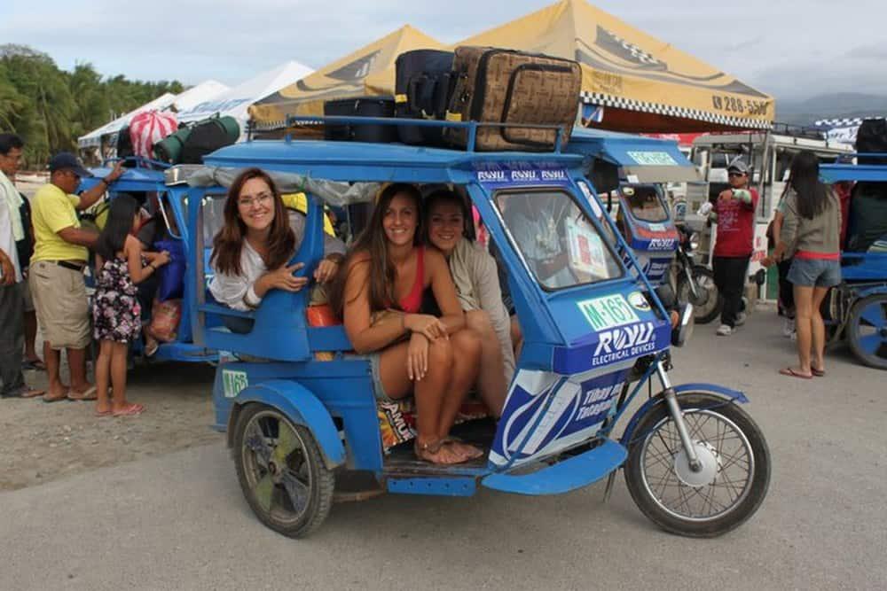 Los trycicles en Boracay