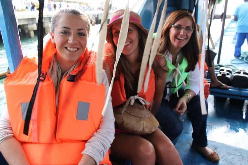 Barcos para llegar a Boracay
