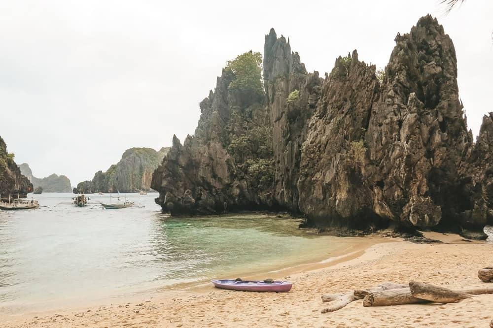 Lluvia en El Nido, Filipinas