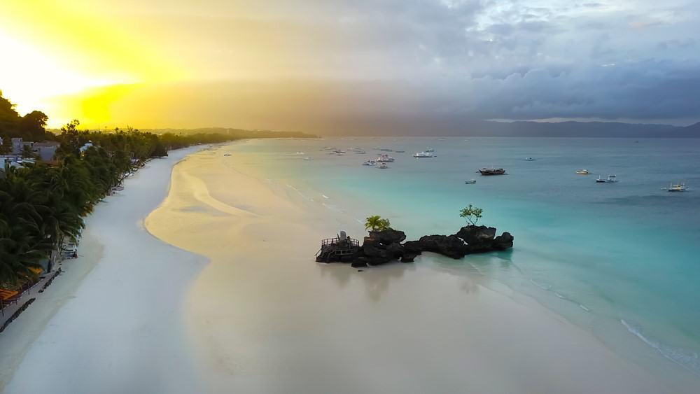 White Beach la mejor zona donde dormir en Boracay