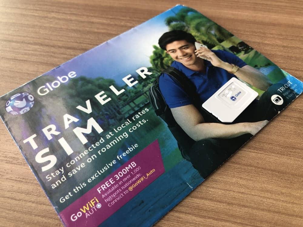 tarjeta sim de globe en filipinas
