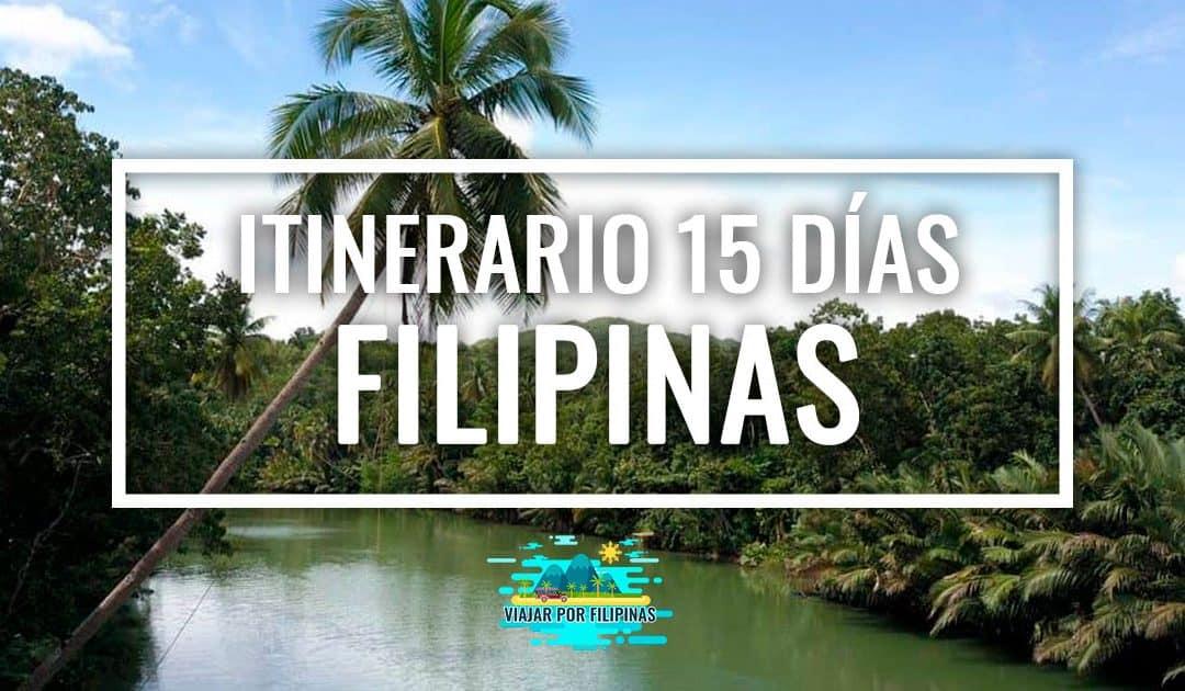 itinerario 15 días Filipinas