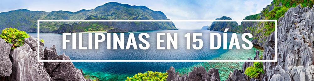 itinerario Filipinas 15 días