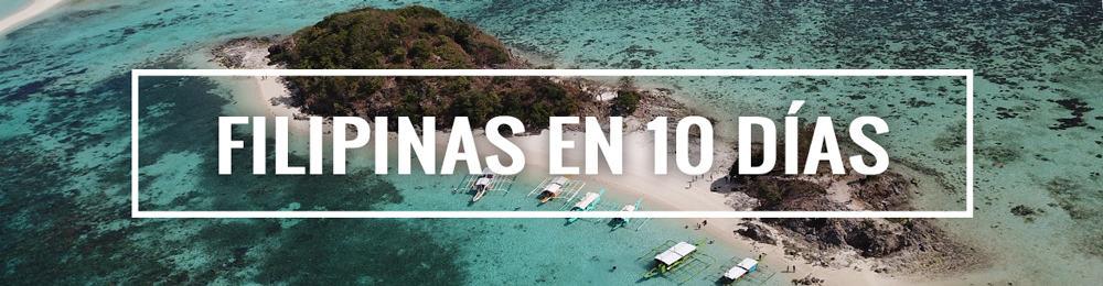itinerario de viaje a Filipinas 10 días