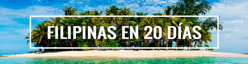 itinerario viaje a Filipinas 20 días