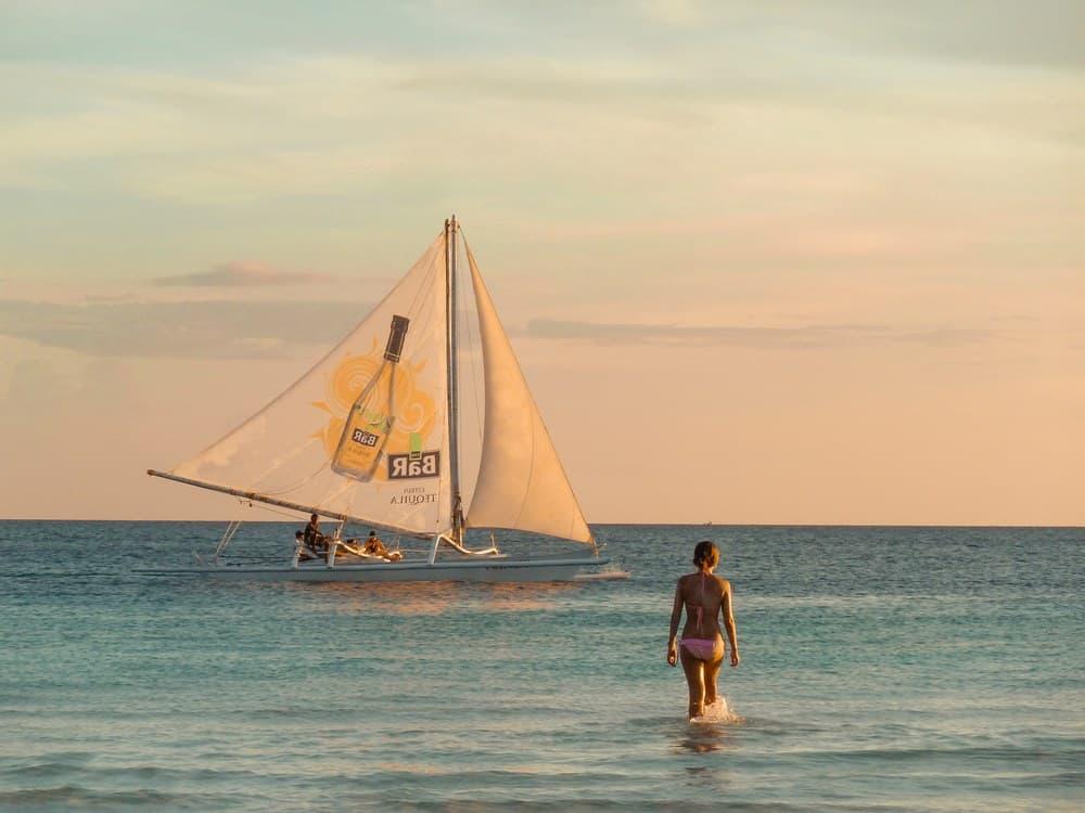 Atardeceres en Boracay, Filipinas