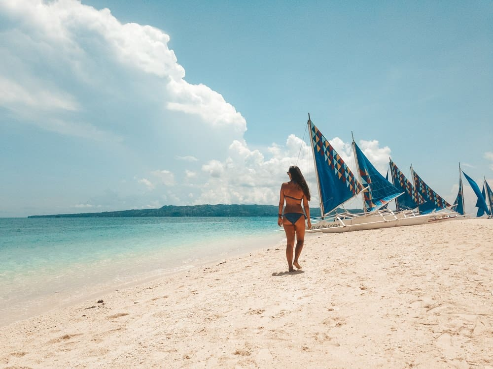 Puka Shell Beach en Boracay