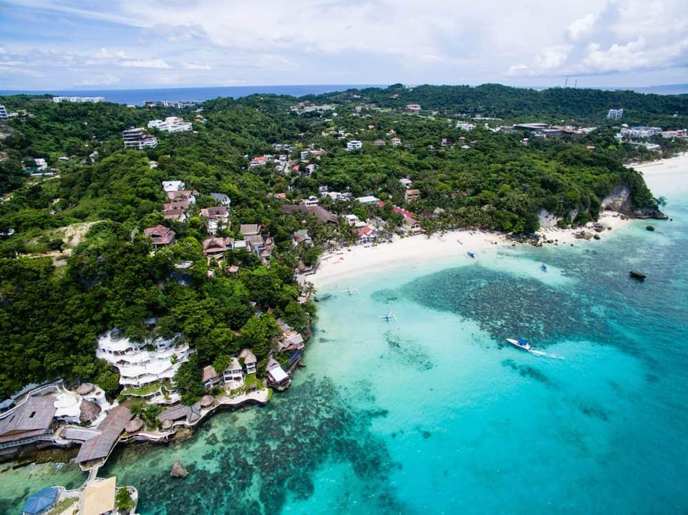 Diniwid Beach en Boracay