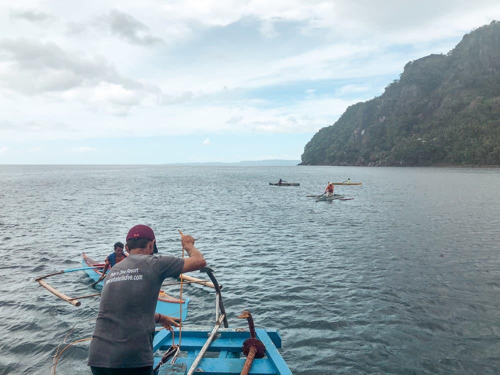 Nadar con tiburón ballena en Padre Burgos