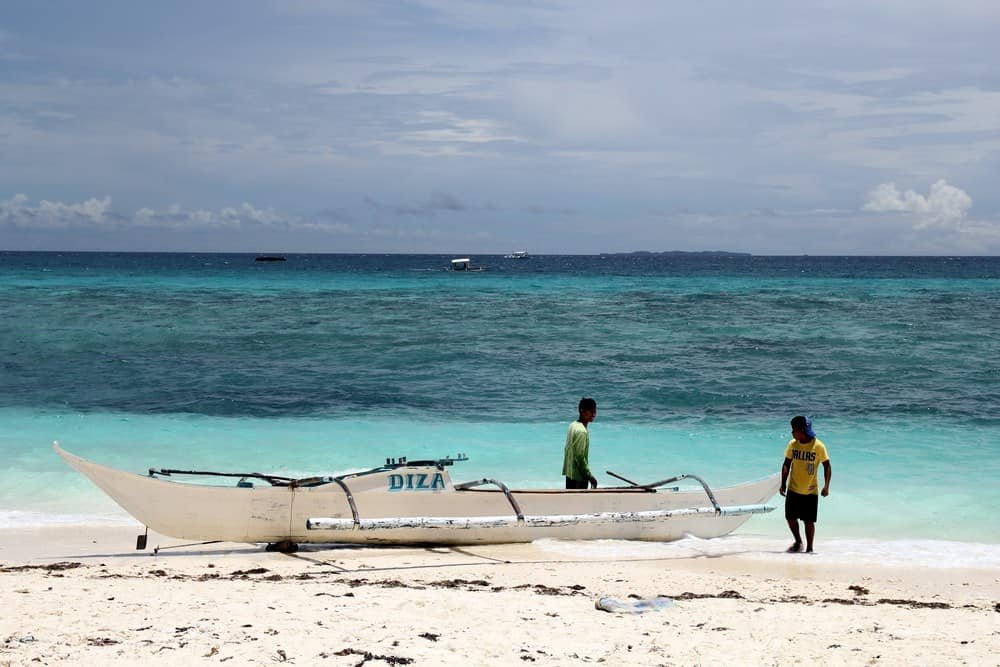 Playa de Langob de Malapascua
