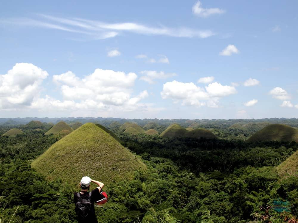 vistas desde el Chocolate Hill Complex