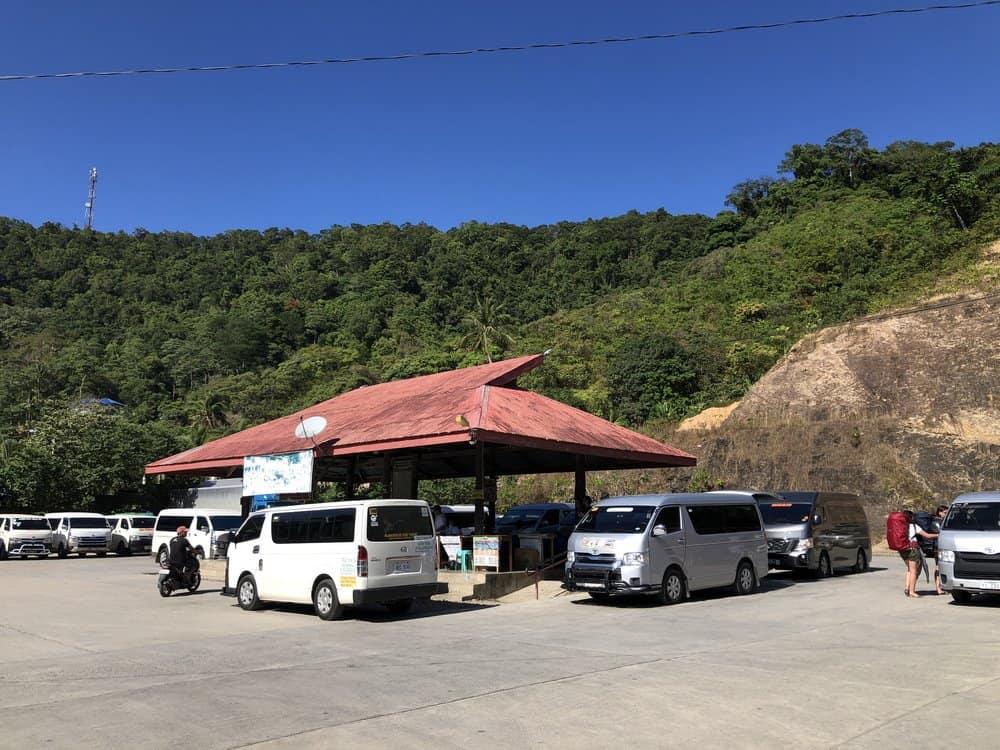 Furgonetas de El Nido a Puerto Princesa
