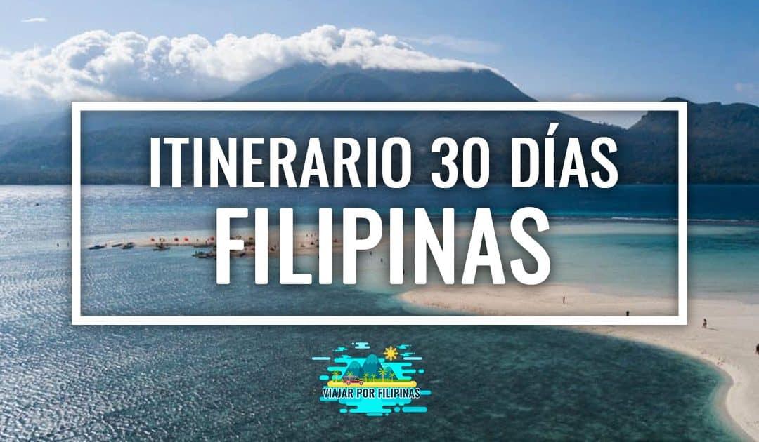 Itinerario de viaje a Filipinas: 1 mes