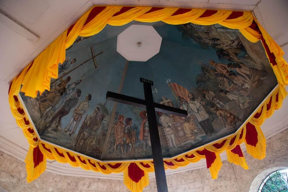 la Cruz de Magallanes en Cebú, Filipinas
