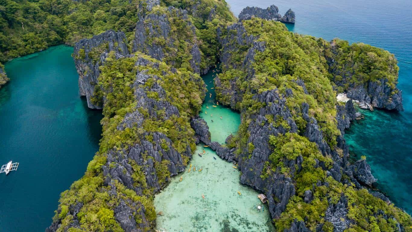 Algo que hacer en Filipinas es island hopping