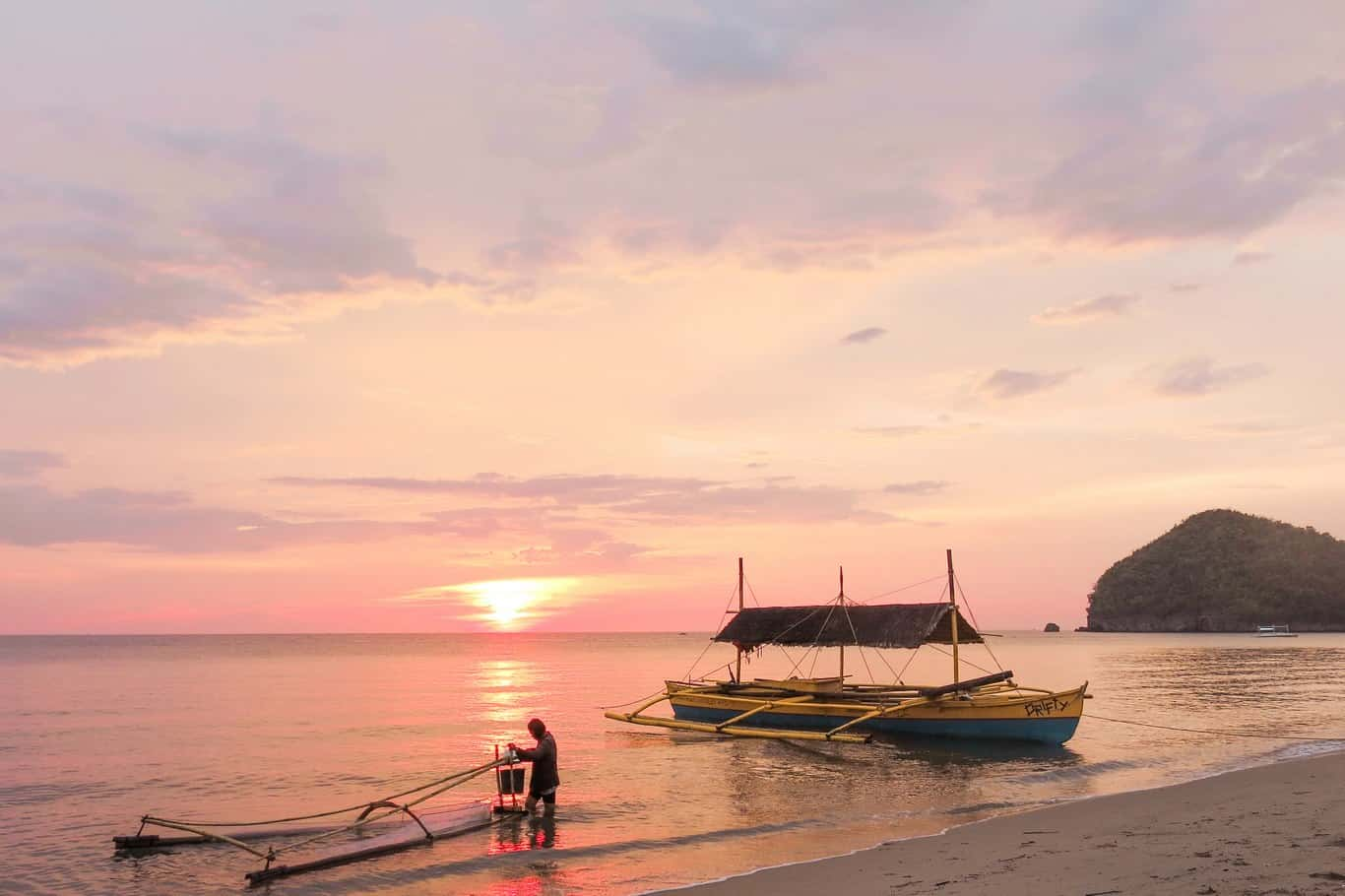 Algo que hacer en Filipinas gratis: ver atardeceres fabulosos