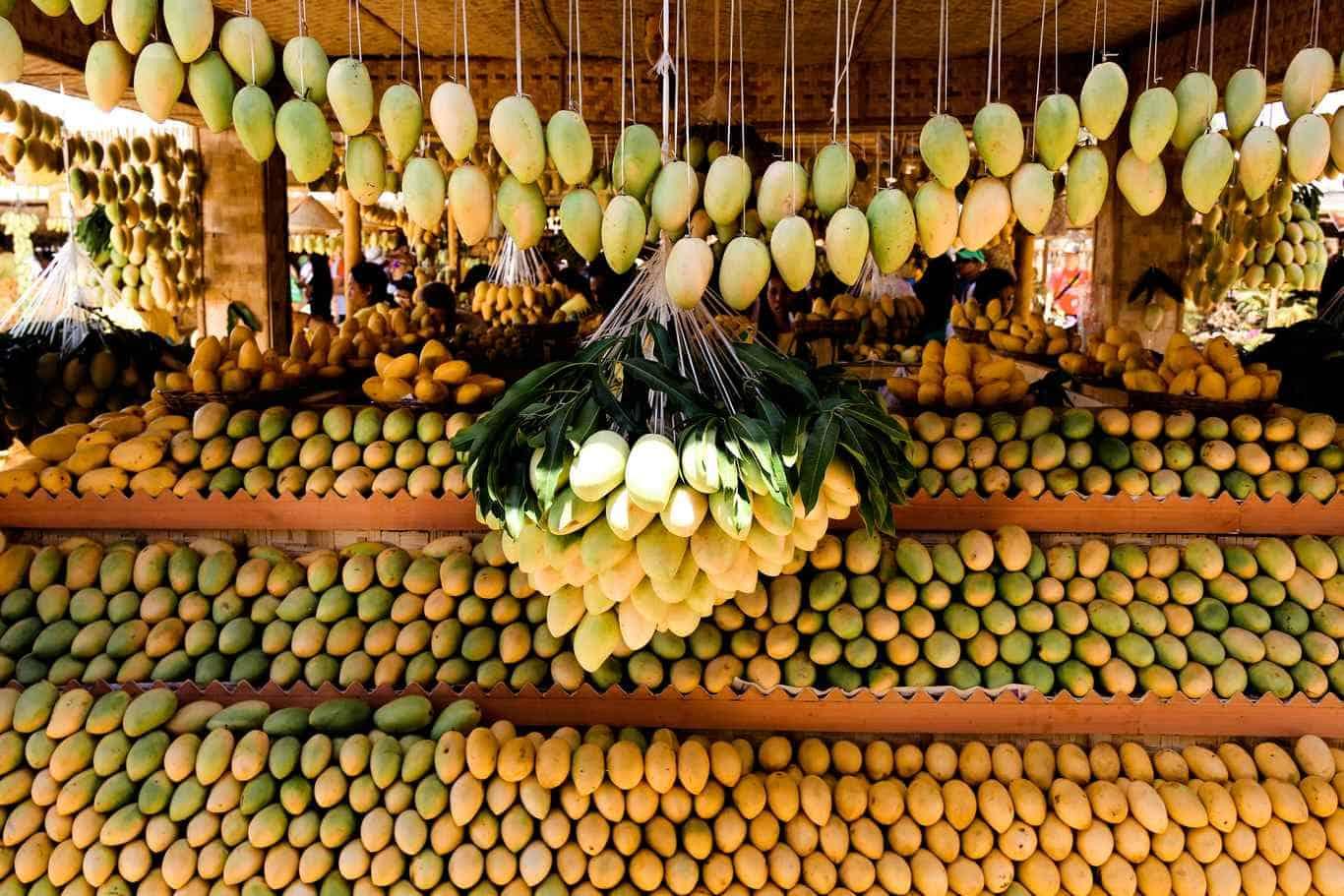 Tienes que hacerlo en Filipinas: comer mango