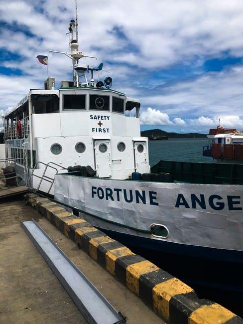 Barco de Surigao a Siargao