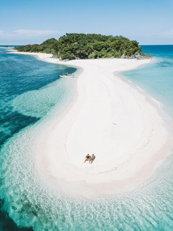 Playas de Filipinas para luna de miel