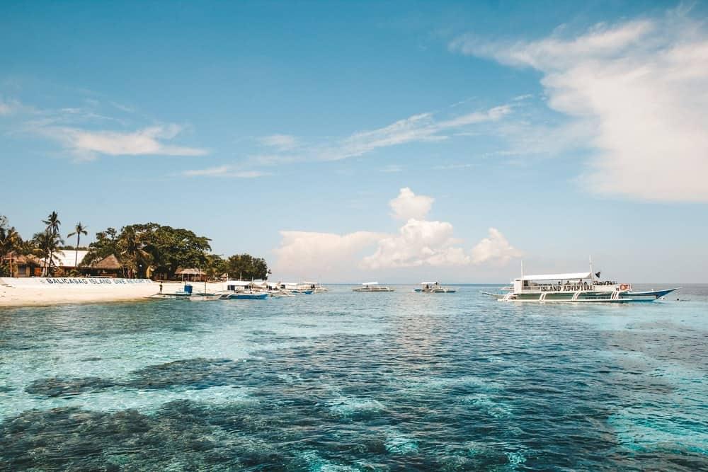 snorkel en filipinas: balicasag