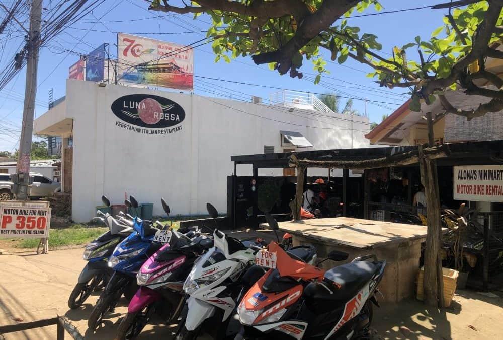 Conducir y alquilar moto en Filipinas