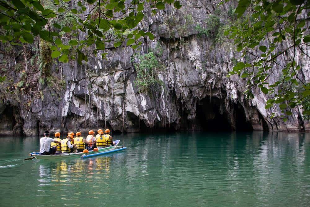 rio subterráneo, algo que ver en palawan