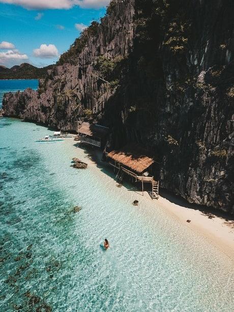 Banol Beach en Coron Palawan